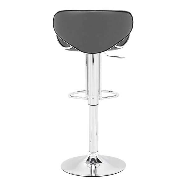 HomeRoots Furniture Fly Bar Chair Gray