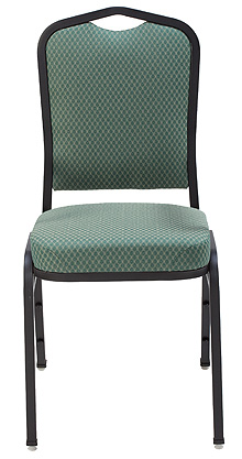 "KFI ""1830"" Series Stack Chair with Vinyl Fabric: 3"" Seat, Without Arms"