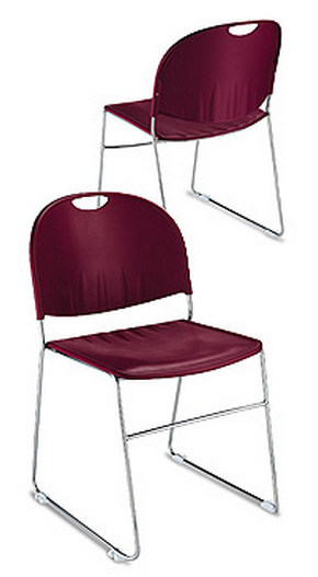"KFI ""2100"" Series Stack Chair without Arms"