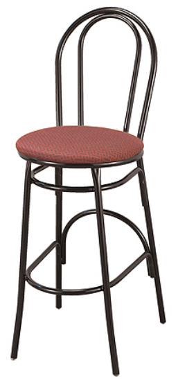 "KFI BR3201-WS ""3200"" Series Cafe Chair with Wood Seat"