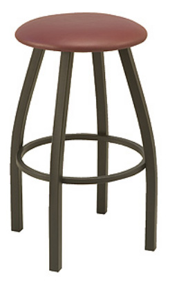 "KFI BR3300-WS ""3300"" Series Barstool with Wood Seat"