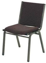 "KFI 1420 ""1400"" Series Stack Chair with Grade 1 Fabric: 2"" Seat, Without Arms"