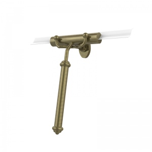 Allied Brass Shower Squeegee with Smooth Handle (product:SQ-20, option:SQ-20-ABR): Antique Brass