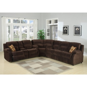 Tracey 2-piece Transitional  Queen Sofa Bed And Reclining Love Seat With Storage Console Living Room Set