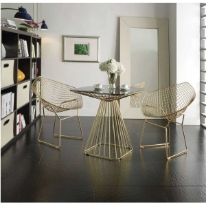 Acme Rianne Chair (1pc), Gold
