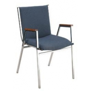 """KFI 421 """"400"""" Series 2"""" Seat Stack Chair with Grade 2 Fabric"""