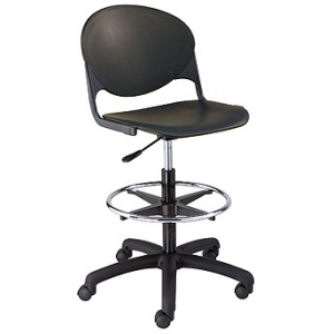 "KFI ""2000"" Series Task Chair with Drafting Stool"