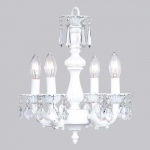 Jubilee Collection 4 Light Fountain Chandelier: White