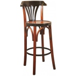 Authentic Models Barstool De Luxe: Grand Hotel, Honey