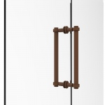 Allied Brass Contemporary 12 Inch Back to Back Shower Door Pull (product:404-12BB, option:404-12BB-ABZ): Antique Bronze