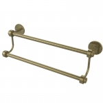 Allied Brass 18 Inch Double Towel Bar (product:7272/18, option:7272/18-ABR): Antique Brass