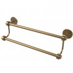 Allied Brass 18 Inch Double Towel Bar (product:7272/18, option:7272/18-BBR): Brushed Bronze