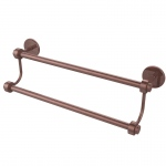 Allied Brass 18 Inch Double Towel Bar (product:7272/18, option:7272/18-CA): Antique Copper