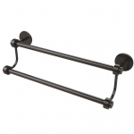 Allied Brass 18 Inch Double Towel Bar (product:7272/18, option:7272/18-ORB): Oil Rubbed Bronze