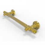Allied Brass 16 inch Grab Bar Reeded (product:DT-GRR-16, option:DT-GRR-16-PB): Polished Brass