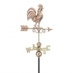 Bantam Rooster Weathervane - Polished Copper by Good Directions