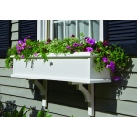 "Charleston Window Box Kit - 48"" (2 Brackets) by Lazy Hill Farm Designs"