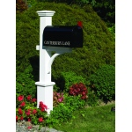 Canterbury Mailbox Post by Lazy Hill Farm Designs