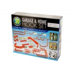Assorted Garage & Home Hook Set