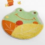 Blancho  Kids Room Rugs  - Smiley Frog