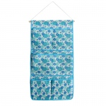 Blancho  Blue/Wall Hanging/ Wall Organizers / Baskets  - Blue Flowers