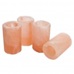 Manhattan Comfort Accentuations By Manhattan Comfort Himalayan Salt Shot Glasses With Plastic Inserts- Set Of 4