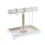 Benzara Antiqued Durable Jewelry Holder
