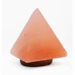 "Manhattan Comfort Accentuations By Manhattan Comfort 9""  Pyramid Shaped Himalayan Salt Lamp  With Dimmer"