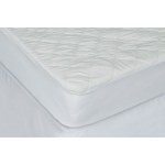 "9"" Waterproof Bamboo Fabric Crib Mattress Protector w/ Pad Liner"