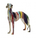 Benzara Abstract And Artistic Polystone Dog