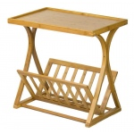 Corner Housewares Bamboo Magazine Side Table