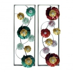 Benzara Adorable Metal Wall Decor 2 Assorted