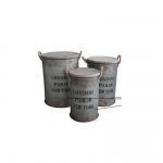 The Urban Port Antiqued Style Storage Container By Urban Port
