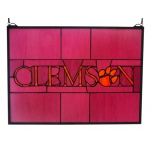 Traditions Clem001 Clemson Window