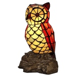 Traditions Ls0010 Perched Owl Accent Lamp