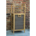 Corner Housewares Bamboo Hamper Shelf