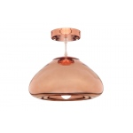 Warehouse of Tiffanys Laren 1-light Bronze 10-inch Edison Pendant With Bulb