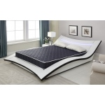 Ac Pacific 6-inch Foam Mattress Covered In A Stylish Waterproof  Fabric, Twin, Available In Various Sizes