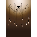 Warehouse of Tiffanys Laycie 10-bulb Edison Chandelier With Bulbs