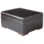 Corner Housewares Attractive Ottoman That Converts Into Bed