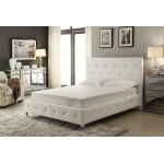 Ac Pacific 8-inch Memory Foam Mattress Covered In A Soft Aloe Vera Fabric, Cal King. Available In Various Sizes
