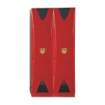 OceanTailer Doors Wardrobe Red 2