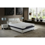 Ac Pacific 11.5 California King Plush Pocketed Coil  Mattress With  Cool Gel Memory Foam