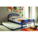 ACME Furniture Acme Cailyn Full Bed, Blue