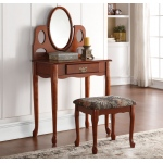 ACME Furniture Acme Aldine Vanity Set, Oak