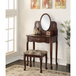 ACME Furniture Acme Aldine Vanity Set, Espresso