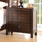 ACME Furniture Acme Brooklyn Nightstand , Espresso