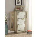 ACME Furniture Acme Talor Jewelry Armoire, Antique Gold