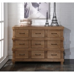 ACME Furniture Acme Adams Dresser, Antique Oak