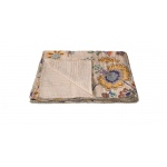 "Taj Hotel Kantha Cotton Throw 50"" X 70"" - 337"